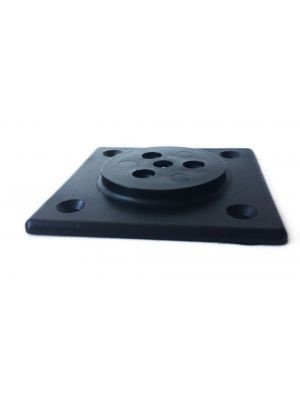 Norse Straight Leg Fixing Plate for Furniture Legs