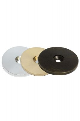 40mm Round Disc Solid Brass Floor Protectors